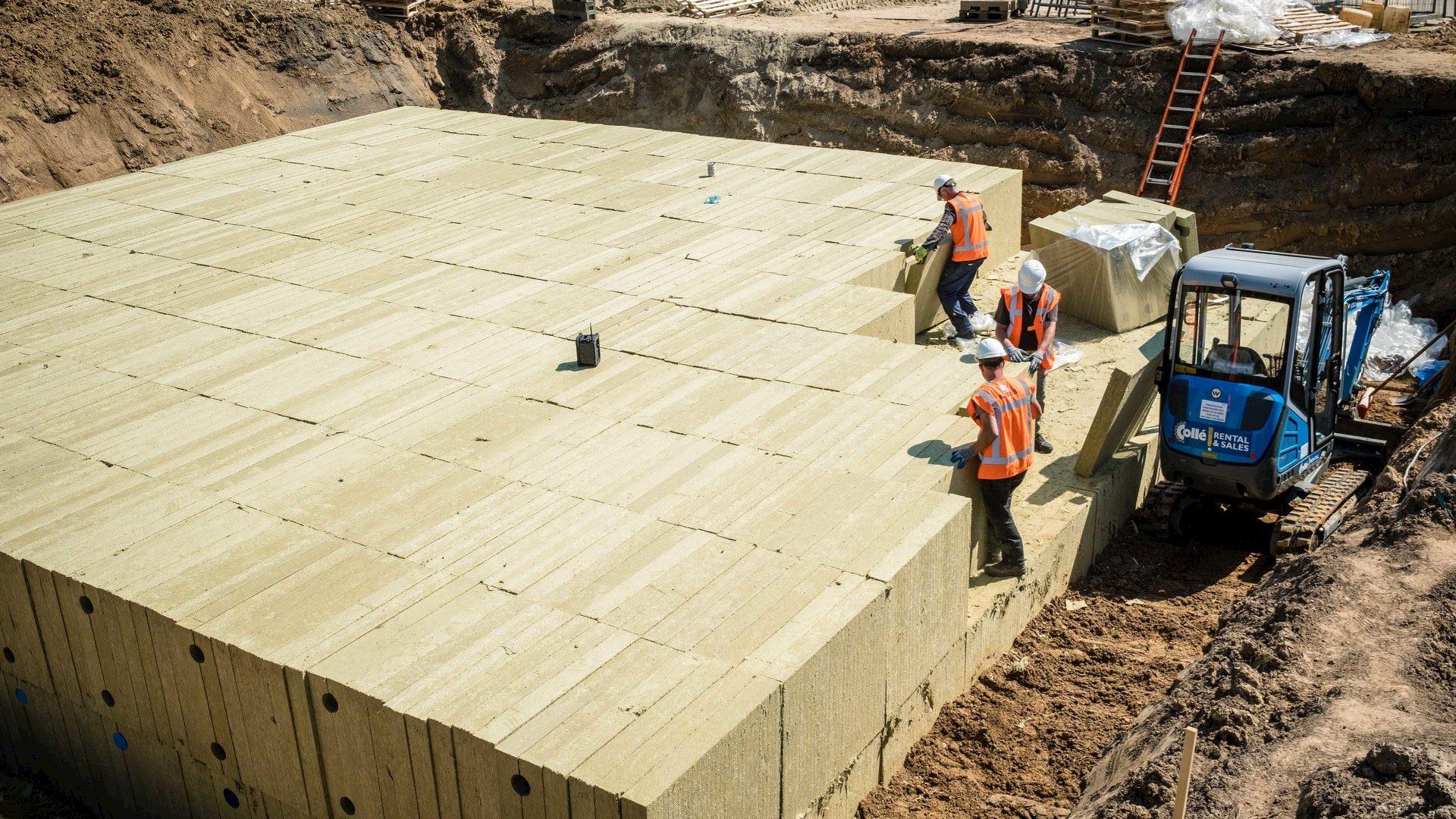 water management, case, construction, solution, lapinus