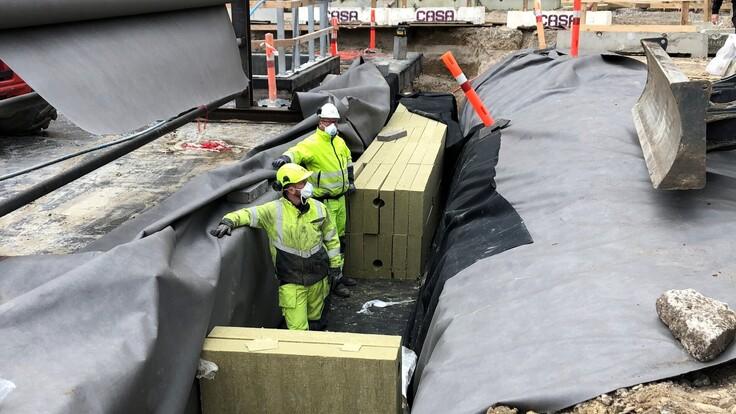 Langelands Plads 5, build, building, construction, work, isolate, city, Lapinus, deep
