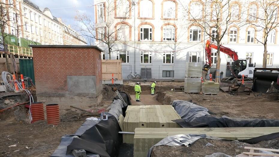 Langelands Plads 6, build, building, construction, work, isolate, city, Lapinus