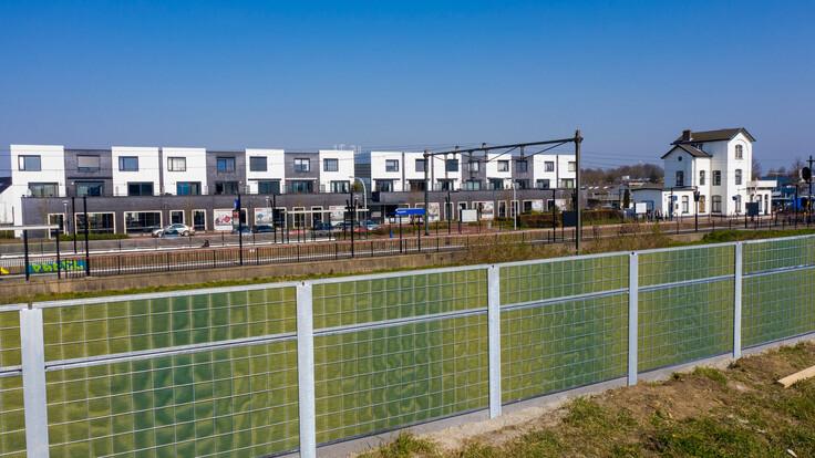 noistop lapinus acoustics urban netherlands capelle case study fences fence